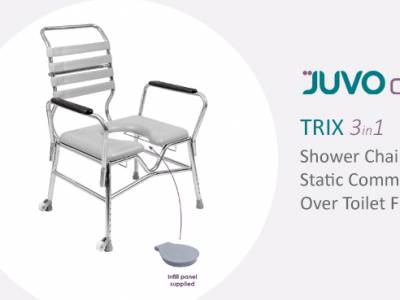 The ever popular TRIX shower chair is now available in 5 sizes!