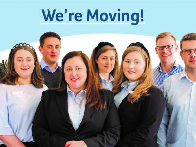 We're Moving Premises